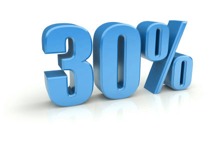 30 procent regeling