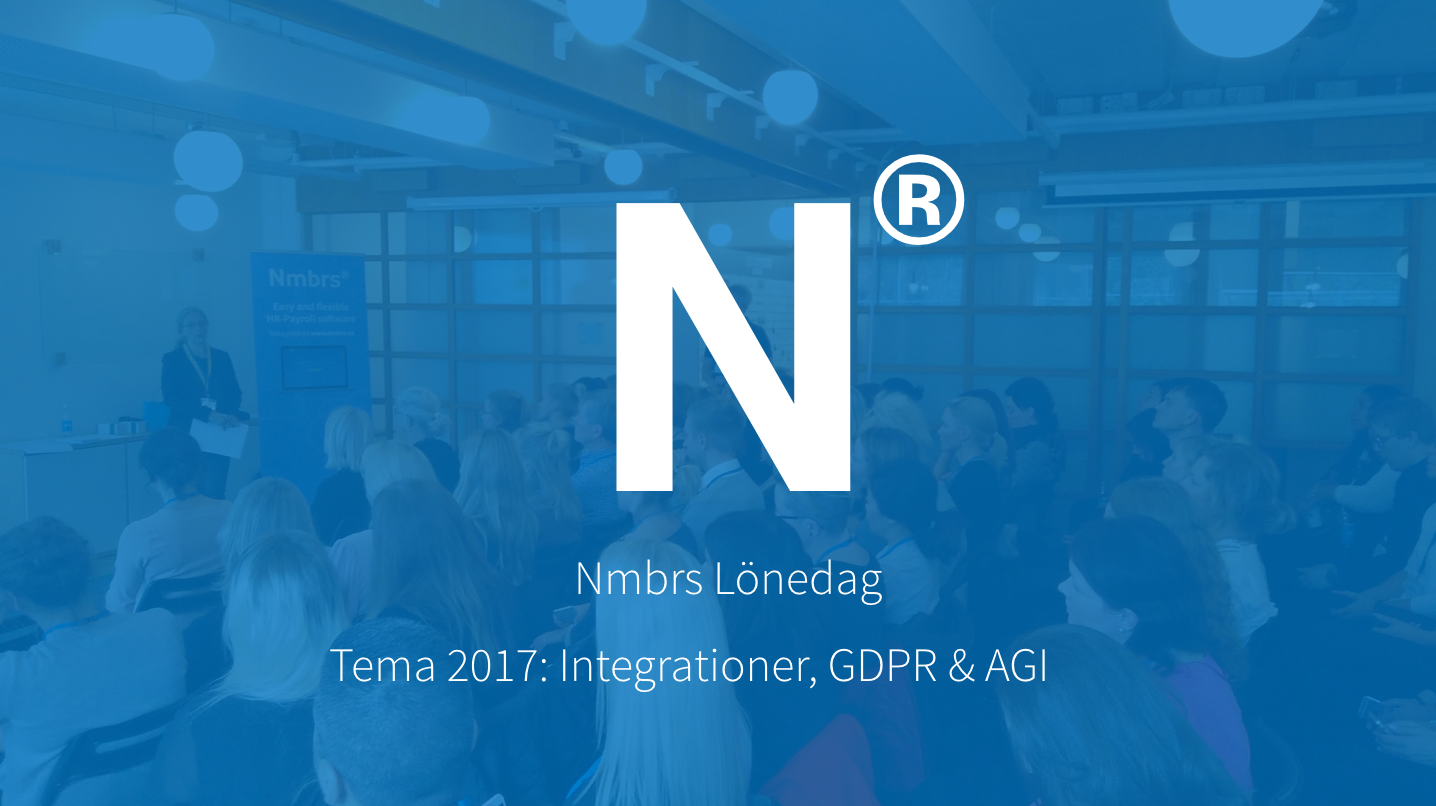 Nmbrs Lönedag 2017